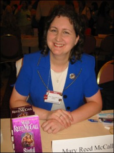 Mary at Literacy Signing 2006