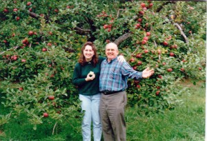 applepicking with Pa