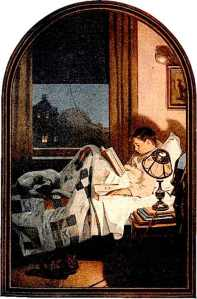 Boy-Reading_art1920s GE ad