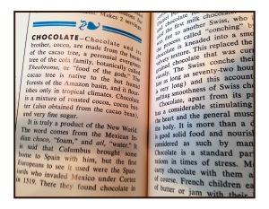cookbook closeup