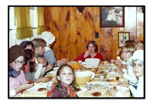 Halloween circa 1975 edited framed