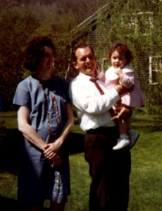 Baby Mary, Ma and Pa