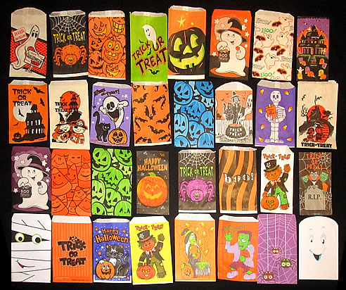 A Selection Of Little Treat Bags Circa 1970s
